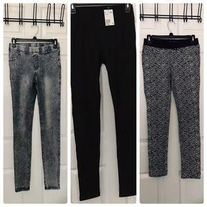 H&M Girls Jeggings Skinny Jean Leggings Pants 14